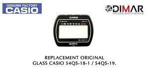 Ersatz Vintage Original Glas Casio 54QS-18-1/54QS-19. NOS