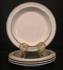 "4 VTG Arabia Of Finland FENNICA 10"" Dinner Plates"