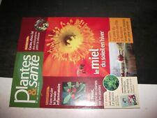 ** Revue Plantes & Santé n°119 Miel -Plantain - chocolat noir - spasmophilie