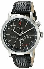Timex TW2P81700 Metropolitan+ Activity Tracker Smart Watch with Black Leather