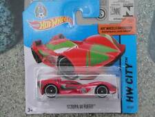 Hot Wheels 2014 #016/250 SCOOPA DI FUEGO ROJO LOTE P Fútbol Mexico