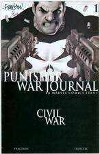 PUNISHER WAR JOURNAL #1 SET DYNAMIC FORCES SIGNED MATT FACTION DF COA #3 NETFLIX