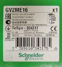 GROUPE SCHNEIDER GV2 ME16 9-14Amp Manual Motor Circuit Breaker Protector GV2ME16