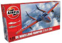 AIRFIX® 1:72 DE HAVILLAND VAMPIRE T.11/J-28C MODEL AIRCRAFT KIT PLANE A02058A