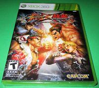 Street Fighter X Tekken Microsoft Xbox 360 *Factory Sealed! *Free Shipping!