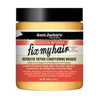 Aunt Jackie's Flaxseed Recipes Intensive Repair Conditioning Masque Fix My Hair