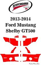 3M Scotchgard Paint Protection Film 2013 2014 Ford Mustang Shelby GT500