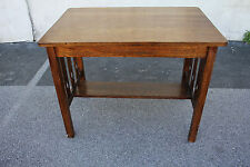 Antique Good Quality Arts & Crafts Oak Table, Desk