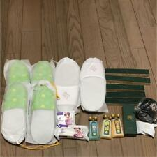 Tokyo Disney Sea Hotel Miracosta Bath Amenities Slippers, Toothbrush, and More