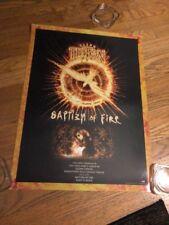 Glenn Tipton -Baptism of Fire/Tipton-Entwistle-Powell 2006 Promo Poster(2-sided)