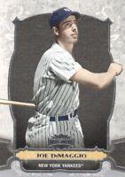 2014 Topps Triple Threads Baseball #5 Joe DiMaggio New York Yankees