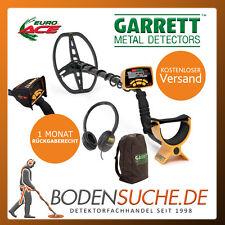 Garrett EURO ACE SommerSpecial Paket mit Kopfhörer, Rucksack und Geräteschutz