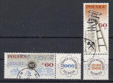 Polen Briefmarken 1966 Technikerkongress Mi.Nr.1653+54 gestempelt