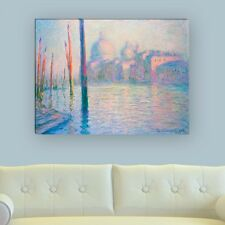 "WANDKINGS Leinwandbild Claude Monet - ""Venedig"" verschiedene Größen"