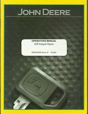 John Deere 22B Integral Ripper Omn200839 Issue J9 Tractor Operator's Manual