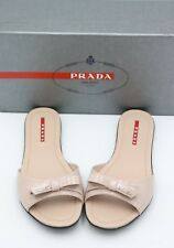 83283039784a PRADA Flat (0 to 1/2 in) Slides Sandals for Women for sale | eBay