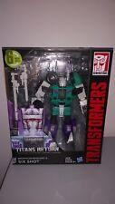 Transformers Titans Return Sixshot MISB