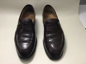 Edward Green, Dark Brown leather Size 10 Men's Shoes