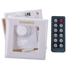 12V 8A Radio LED Brightness Dimmer Knob Controller Remote SMD Strip Light W A6O2