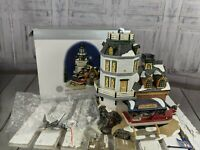 dept 56 village xmas holiday AS IS snow candlerock lighthouse house 55045