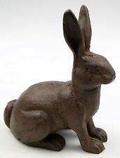 Rabbit Garden Cast Iron Statue Bunny