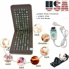 Stone heating mat Tourmaline Natural Jade Negative Ions InfraRed Pad Massage