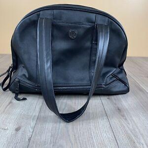 Lululemon Tote bag Black Leather