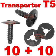 T5 ENGINE HEADLIGHT BATTERY COVER TRIM SCREWS CLIPS WASHER RETAINER TRANSPORTER