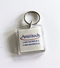 Old Ameritech Mobile KEEP YOUR MIND ON THE DRIVE Advertising KeyChain