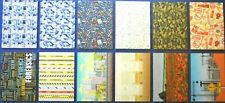 12 x A5 Tattered Lace ASSORTED Heroes & Heroines Backing Papers 125gsm NEW