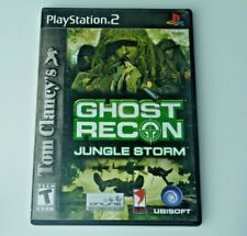 Tom Clancy's Ghost Recon Jungle Storm Playstation 2 Great Condition Tested