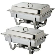 Best EBAY Pack of 2 OMEGA Chafing Dish Sets Next Day Delivery