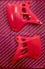 Kx 250 1990 1991 RARE Radiator ShroudCovers Scoops Pink Tuf Racing Super Evo Ufo