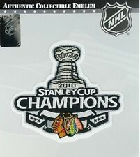 2010 Official Chicago Blackhawks Champions NHL Stanley Cup Finals Patch Jersey