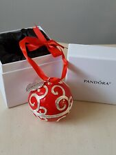 2017 Pandora Spectacular Radio City Rockettes Red Christmas Ornament With Box