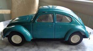 Vintage 1968 Blue-Green Tonka VW Beetle #52680