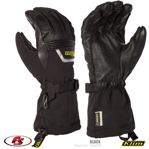 NEW KLIM Fusion Snowmobile Gore-tex Glove - Black - Size XL Motorcycle
