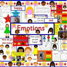 EMOTIONS resource TO PRINT- multicultural children, PSHE, SEN, ourselves