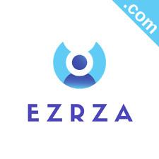 EZRZA.com Catchy Short Website Name Brandable Premium Domain Name for Sale