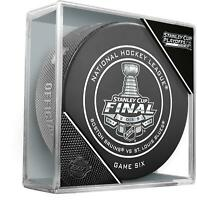 Boston Bruins vs St Louis Blues InGlasCo 2019 Stanley Cup Final Game 6 Game Puck