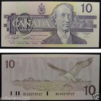 Canada Banknote 10 Dollars 1989 UNC