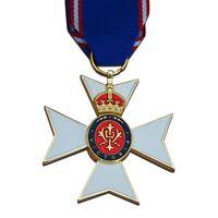ROYAL VICTORIAN ORDER CROSS MEDAL RVO Maltese Cross British Empire Medal Copy