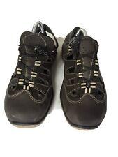 Mens Dark Brown Sandals Size Size 10 (W63)