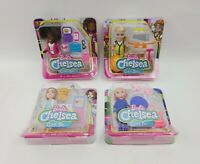 "Barbie Chelsea Can Be Anything Doll Lot Of 4 Career Women Dolls 6"" Figure Mattel"
