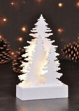 Decorative Holzbaumgruppe Grove Christmas Decoration Fit Tree White Wood