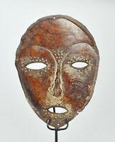 Superbe masque Idimu LEGA Congo mask African Tribal Art 1389