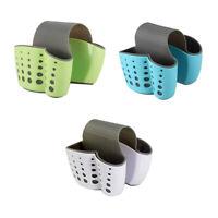 Sponge Holder Sink Caddy Soap Holder for Kitchen Organization Plastic Stora C9F1