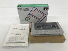 Nintendo 3DS Ll Super Famicom Edición Entretenimiento Sistema Usado