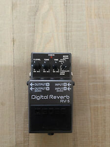 Boss Digital Reverb RV-5 Guitar effects pedal. Good condition.