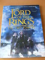 """"""" The Lord of the Rings: The Two Towers, Visual Companion. """" Signed 1st Edition"""